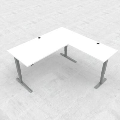 Steh-/Sitz-Eck-Schreibtisch 501-43E