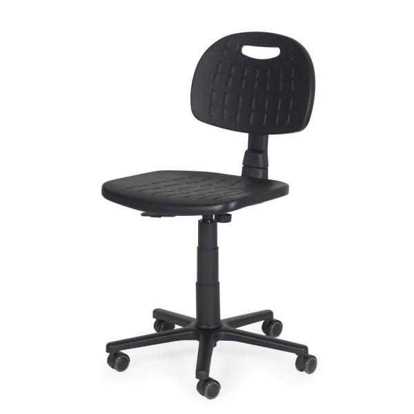 Arbeitsdrehstuhl PU Rückenlehne verstellbar